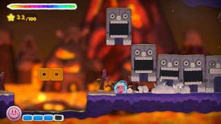 Kirby and the Rainbow Paintbrush + Matrica WII U