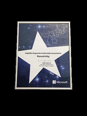 Microsoft Partneri Díjak
